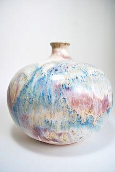 Mid Century Modern Studio Pottery Vase