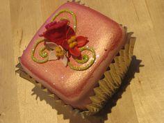 Pink Petit Four