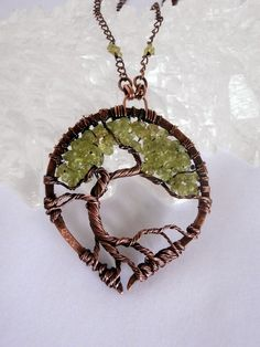 Perfectly Twisted Handmade Wire Wrapped Beaded and Gemstone Jewelry: New! Tree of Life, Wire Wrapped Bonsai Pendants