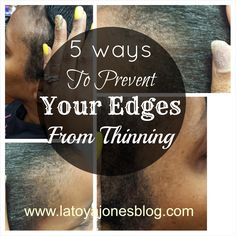 A lot of times women ask me how to fix their thinning edges.  Today I would like to focus on prevention.  Many of the times the probl...