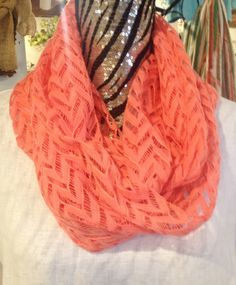 Infinity scarf in many colors