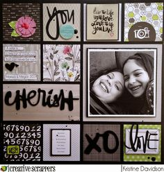 Kristine Davidson: Cherish - CS Sketch 269 | Creative Scrappers