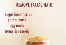 DIY HOME REMEDIES TO REMOVE FACIAL HAIR