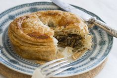 Beer braised beef and mushroom pies