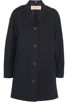 Burberry Brit Cotton-canvas cocoon coat | NET-A-PORTER