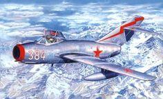 MiG-15bis Fagot (MisterCraft box art)