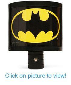 Batman Night Light Home #Office #Lighting #Clocks