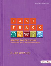 Fast Track: Genesis to Revelation - Kids Activity Book | Hovind, Chad | LifeWay Christian