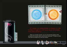5 Creative Condom Packaging Design   1 Design Per Day (No baby)