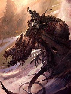 ArtStation - Leader of Hades's horsemen, Pascal Quidault