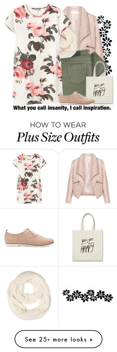 """""""What you call insanity, I call inspiration."""" by birdofparadise25 on Polyvore featuring Zizzi, Victoria Beckham, Monki, Forever 21, women's clothing, women, female, woman, misses and juniors"""