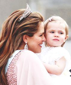 anythingandeveyrthingroyals: Princess Madeleine and Princess Leonor, June 13, 2015