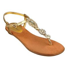 Nine West: Shoes  Flat Sandals  Issina -   Sandal