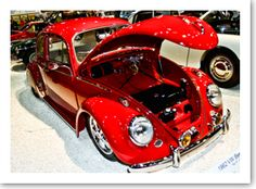A beautiful example of a VW Beetle at the NEC Classic Motor Show 2011