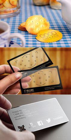Idéias para Cartões de Visita Diferentes e Criativos.
