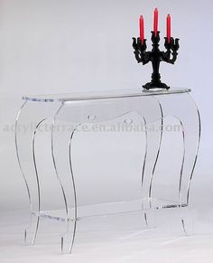 Lucite Console Table products, buy Acrylic Lucite Console Table
