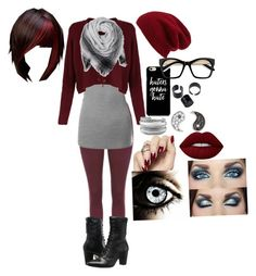 """Random fall break outfit"" by crmsonred13 ❤ liked on Polyvore featuring Doublju, Johnston & Murphy, Halogen, Sydney Evan, David Yurman and Lime Crime"