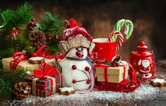 Wallpaper merry, christmas, xmas, decoration, christmas, new year wallpapers new year - download