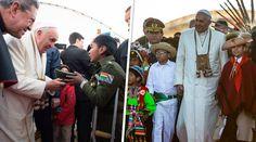 Aunque los medios ya han difundido una serie de imágenes impactantes sobre la visita del Papa Francisco a Ecuador, Bolivia y Paraguay, definitivamente las más conmovedoras han sido la de los niños que con sus gestos y afecto se ganaron el corazón del Pontífice.