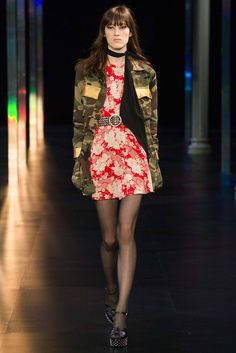Saint Laurent, Весна-лето 2015, Ready-To-Wear, Париж
