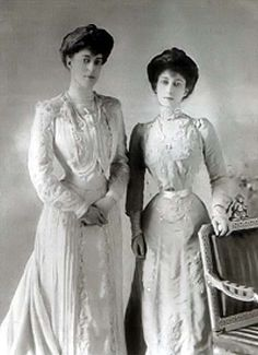 Maud with Princess Victoria