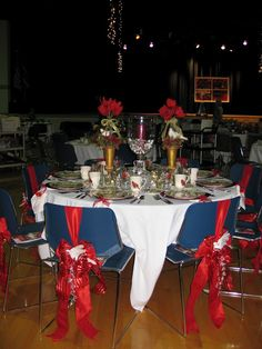 Christmas Tea tablescapes