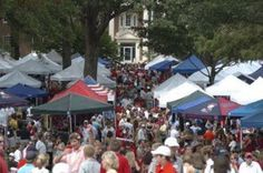 The Grove @ Ole Miss, the best college football tailgating