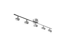 CATO S6005 Spotlight Track - Material Metal Incl. light source Yes Light source Halogen Socket G4-6,35 Suited for ceiling hook Yes Family Cato Number of light sources 5 pieces Watt max 20 W Length 1200 mm.