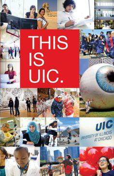 University of Illinois at Chicago :: Viewbook on Behance