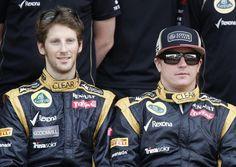 Romain Grosjean and Kimi Raikkonen picked up 10 podium places between them last season (Picture: Reuters)