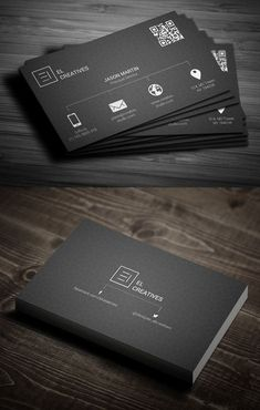 Free Modern Business Card Templates Ads Pinterest Business - Cool business cards templates