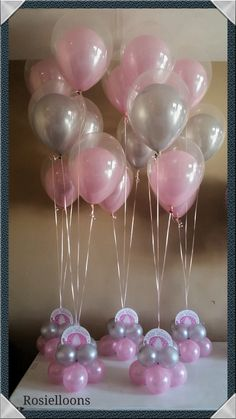 Birthday Balloon Decorations, Balloon Crafts, Birthday Balloons, Elephant Shower, Elephant Party, Baby Shower Balloons, Baby Shower Themes, Baby Shower Centerpieces, Baby Shower Decorations