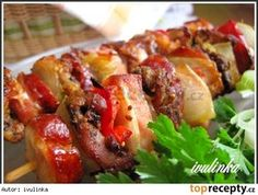 Meat Recipes, Baked Potato, Sausage, Pork, Food And Drink, Yummy Food, Beef, Treats, Baking