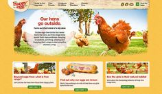 the happy egg co. homepage by Duncan/Channon, via Flickr