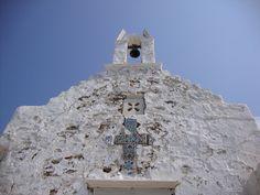 Kościół na wyspie Paros