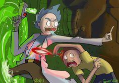 Rick and Morty Fanart ~2017