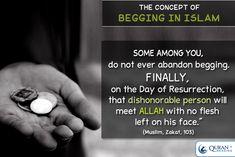 Begging in Islam #islam