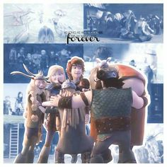 """""""As long as we're together, this moment lasts forever."""" This is awesome! I give good credit to whoever made this! Httyd 2, Httyd Dragons, Hiccup And Astrid, Dragon Rider, The Big Four, Disney And More, Cartoon Movies, How To Train Your Dragon, Disney And Dreamworks"""