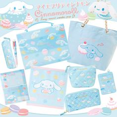 New Oct 2013 Cinnamoroll collection <3 <3