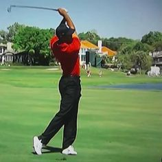 By working on your follow-through you can quickly make dramatic improvements to your golf swing. You'll strike the ball better, with more power and consistency, and you'll swing safely and free from pain.