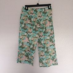 Kid pajama shorts Blue and pink Camo pajama shorts with pink ribbons Xhilaration Intimates & Sleepwear Pajamas