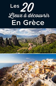Visit Greece The 20 best things to do in Greece. The definitive guide of the best places to visit, with all the must-see attractions and points of interest. Itineraries to plan your trip to Greece + my best tips. Greece Destinations, Greece Itinerary, Travel Destinations, Greece Vacation, Greece Travel, Vacation Spots, Vacation Resorts, Corfu Grecia, Cool Places To Visit