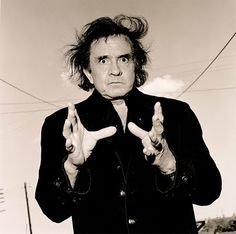 Johnny Cash   Photo By Andy Earl