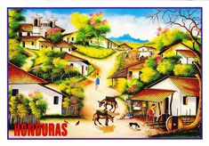 #Pedro Triminio #art #Honduras #carte postale #postcard #arte #tarjeta postal #postal card