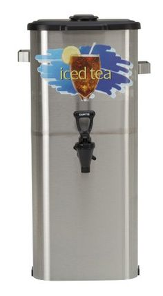 "Wilbur Curtis Iced Tea Dispenser 4.0 Gallon Tea Dispenser, Oval 21""H - Designed to Preserve Flavor - TCO421A000 (Each) ** Read more at the image link."