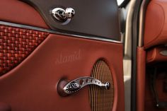 really amazing custom door panel with simply perfect details
