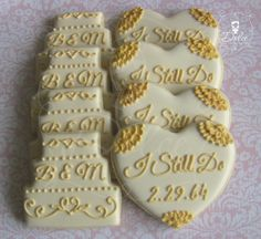 50th Anniversary Cookies