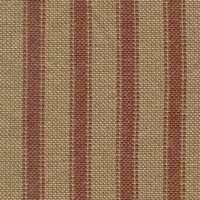 Country Red Ticking Homespun Fabric