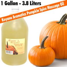 - Liters - The perfect oil for fall massage. Features a cuvee of grape seed oils scented with our a warm, Pumpkin Spice scent. Use in massage or bath services.Available Sizes: Pumpkin Spice Candle, Vitis Vinifera, Body Brushing, Body Wraps, Body Treatments, Massage Oil, Body Scrub, Seed Oil, Vitamin E