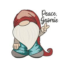 Gnomes are all the rage, and this little guy is sure to please. Sizes included are and INFO: Embroidery Designs, Embroidery Applique, Machine Embroidery, Christmas Gnome, Christmas Signs, Gnome Pictures, Gnome Images, Gnome Paint, Rock Painting Designs